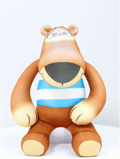 """Антистрессовая игрушка """"Медведь Баул в тельняшке"""" 46х23"""