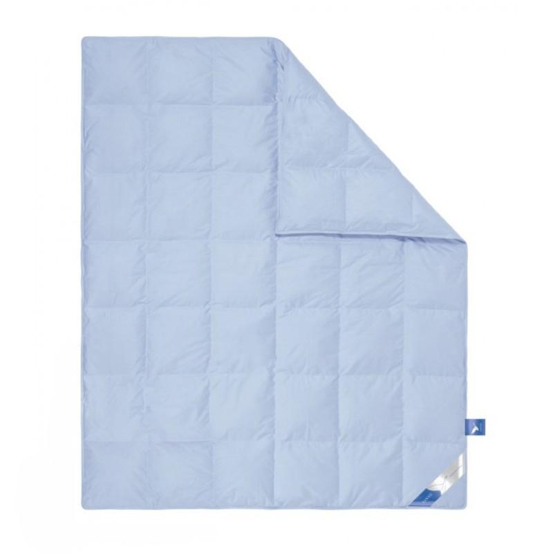 """Одеяло зимнее """"Гуси"""" (пух, тик) 1,5 спальный (140*205)"""