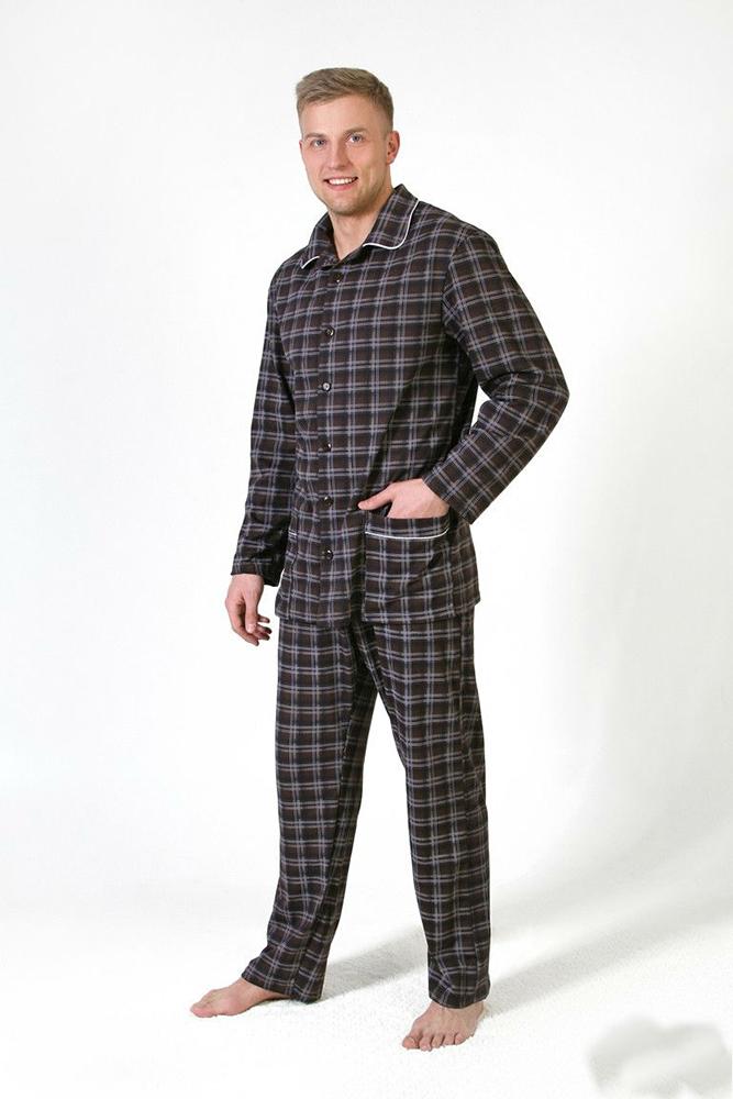 Пижама мужская ЮпитерПижамы<br>Выбор одежды для сна доставляет хлопоты не только женщинам. Мужские модели имеют свои особенности, но соответствуют тем же требованиям.<br>Мужская пижама Юпитер - стильное и современное решение. Стопроцентный хлопок в составе сочетает преимущества натуральных тканей и доступную стоимость. Кулирка - легкая ткань, приятная телу. Она практически не мнется, не вытягивается и не деформируется в проблемных зонах, вроде локтей или коленей.<br>В наличии несколько цветов и разные размеры. Выберете мужскую пижаму Юпитер, и на долгое время забудьте о заботах, приобретая долгожданный комфорт и удобство. Размер: 56<br><br>Высота: 9<br>Размер RU: 56