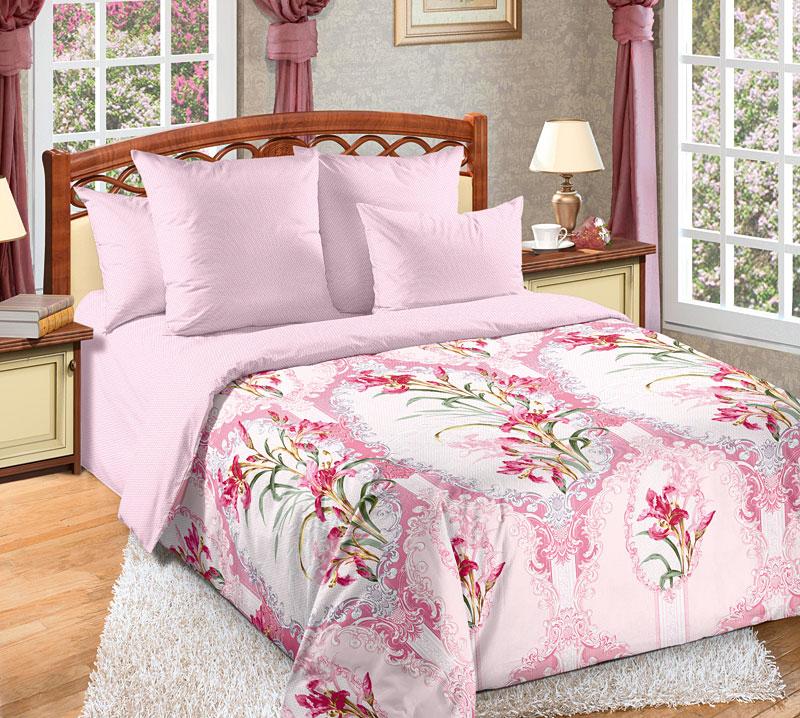 Постельное белье Элен розовый (перкаль) 2 спальныйПеркаль<br>Размер: 2 спальный<br><br>Высота: 9<br>Размер RU: 2 спальный