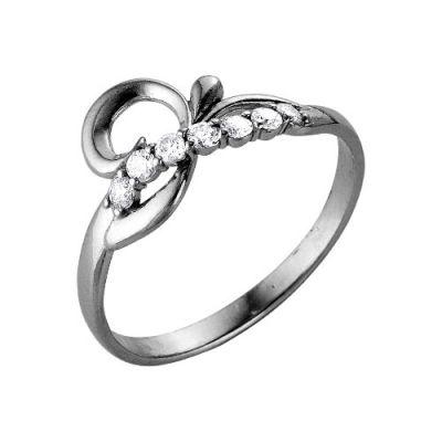 Кольцо серебряное 2386078Серебряные кольца<br>Вес  1,72<br>Вставка  Фианит<br>Покрытие  оксидирование Размер: 17.0<br><br>Высота: 3<br>Размер RU: 17.0