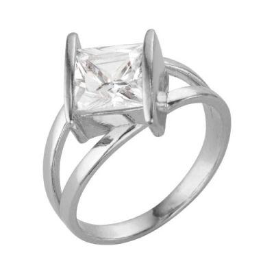 Кольцо серебряное 2386064бСеребряные кольца<br>Вес  4,98<br>Вставка  Фианит<br>Покрытие  без покрытия Размер: 16.5<br><br>Высота: 3<br>Размер RU: 16.5