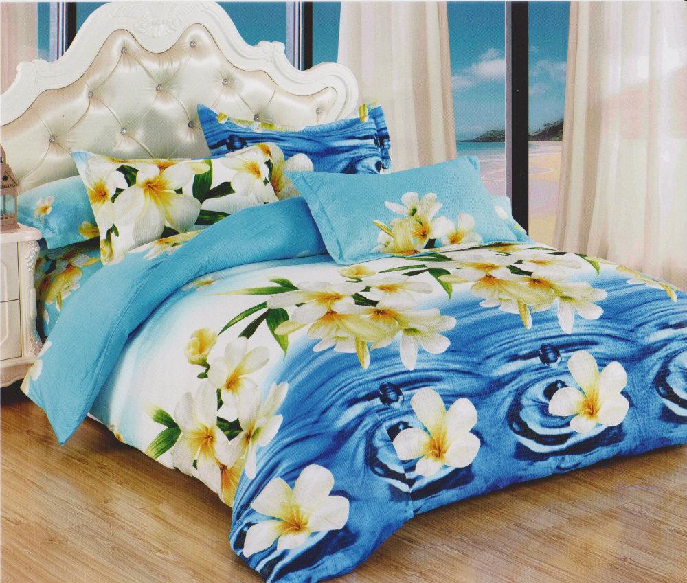 Постельное белье Лилия (жатка) 1,5 спальныйМикрофибра<br>Размер: 1,5 спальный<br><br>Высота: 5<br>Размер RU: 1,5 спальный
