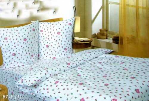 """Постельное белье """"Мелкие розы"""" (бязь) 1,5 спальный от Grandstock"""