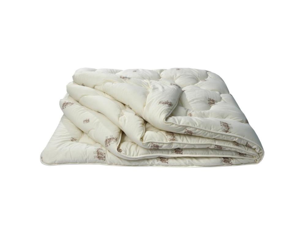 """Одеяло облегченное """"Овечья шерсть"""" 1,5 спальный (140*205)Овечья шерсть<br>Размер: 1,5 спальный (140*205)<br><br>Тип одеяла: Эконом<br>Принадлежность: Для дома<br>По назначению: Повседневные<br>Наполнитель: Овечья шерсть<br>Основной материал: Хлопок<br>Страна - производитель ткани: Россия, г. Иваново<br>Вид товара: Одеяла и подушки<br>Материал: Хлопок<br>Сезон: Лето<br>Плотность: 150 г/кв. м.<br>Толщина одеяла: Облегченное (от 100 до 200 гр/кв.м)<br>Длина: 48<br>Ширина: 38<br>Высота: 20<br>Размер RU: 1,5 спальный (140*205)"""