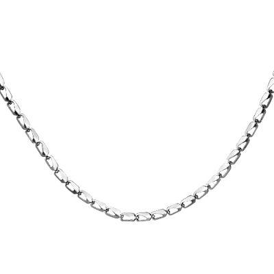 Цепочка бижутерия 940034с (серебрение) 45Бижутерия<br>Артикул  940034с<br>Покрытие  -Серебрение<br>Размерный ряд  -45, 50, 55, 60<br> Размер: 45<br><br>Принадлежность: Драгоценности<br>Основной материал: Бижутерный сплав<br>Вид товара: Бижутерия<br>Материал: Бижутерный сплав<br>Покрытие: Серебрение<br>Длина изделия: 45,50,55,60<br>Вставка: Без вставки<br>Габариты, мм (Длина*Ширина*Высота): Длина изделия*5,4*4<br>Длина: 5<br>Ширина: 5<br>Высота: 3<br>Размер RU: 45