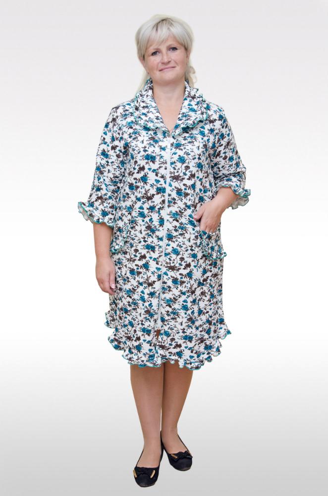 Халат женский ДиваТеплые халаты<br>Размер: 56<br><br>Высота: 11<br>Размер RU: 56