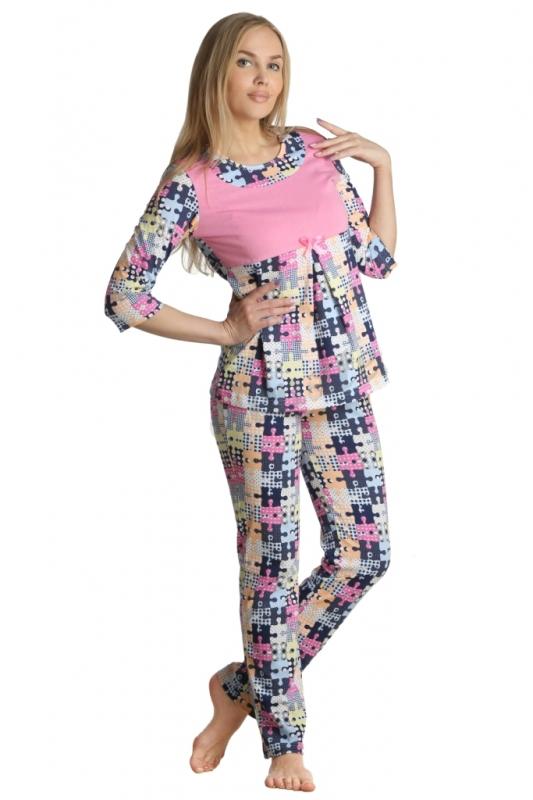 Пижама женская БелитаПижамы<br>Длина кофты по спинке:<br><br>44-50 размеры 68 см<br>52-56 размеры 72 см<br><br>Длина брюк по боковому шву:<br><br>44-56 размеры 70 см Размер: 46<br><br>Принадлежность: Женская одежда<br>Основной материал: Кулирка<br>Вид товара: Одежда<br>Материал: Кулирка<br>Состав: 100% хлопок<br>Длина: 18<br>Ширина: 12<br>Высота: 7<br>Размер RU: 46