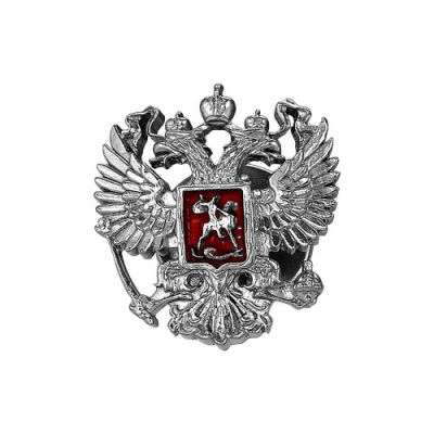 """Значок серебряный """"930577"""""""