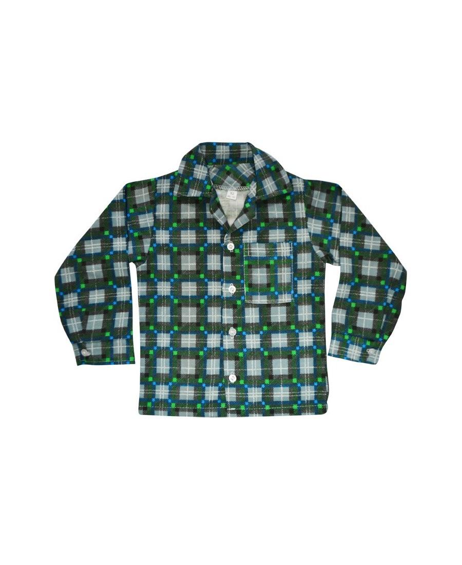 Купить в интернет-магазине Рубашка фланелевая на мальчика Клетка за 439 р.