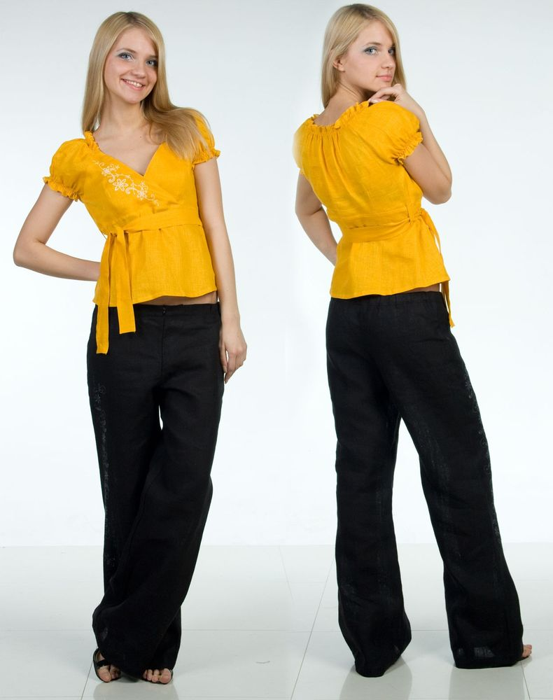 Блузка льняная модель АнжеликаБлузки<br>Длина по спинке : 49 см<br>Полуобхват груди под проймой : 43 см<br>Длина рукава с плечом : 22 см Размер: 42<br><br>Принадлежность: Женская одежда<br>Основной материал: Лен<br>Страна - производитель ткани: Россия, г. Пучеж<br>Вид товара: Одежда<br>Материал: Лен<br>Длина: 18<br>Ширина: 12<br>Высота: 7<br>Размер RU: 42