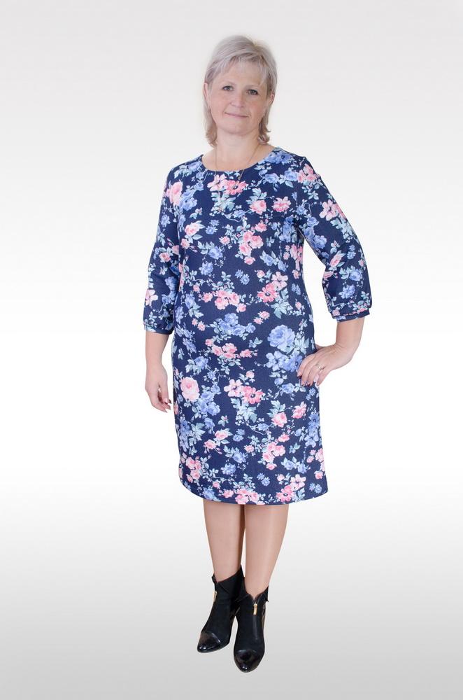 Платье женское КарлеттПлатья<br>Размер: 52<br><br>Принадлежность: Женская одежда<br>Основной материал: Футер<br>Страна - производитель ткани: Россия, г. Иваново<br>Вид товара: Одежда<br>Материал: Футер<br>Длина рукава: Средний<br>Длина: 18<br>Ширина: 12<br>Высота: 7<br>Размер RU: 52
