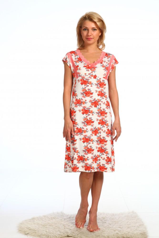 Ночная сорочка ИсадораСорочки и ночные рубашки<br>Размер: 46<br><br>Принадлежность: Женская одежда<br>Основной материал: Вискоза<br>Вид товара: Одежда<br>Материал: Вискоза<br>Длина: 18<br>Ширина: 12<br>Высота: 7<br>Размер RU: 46