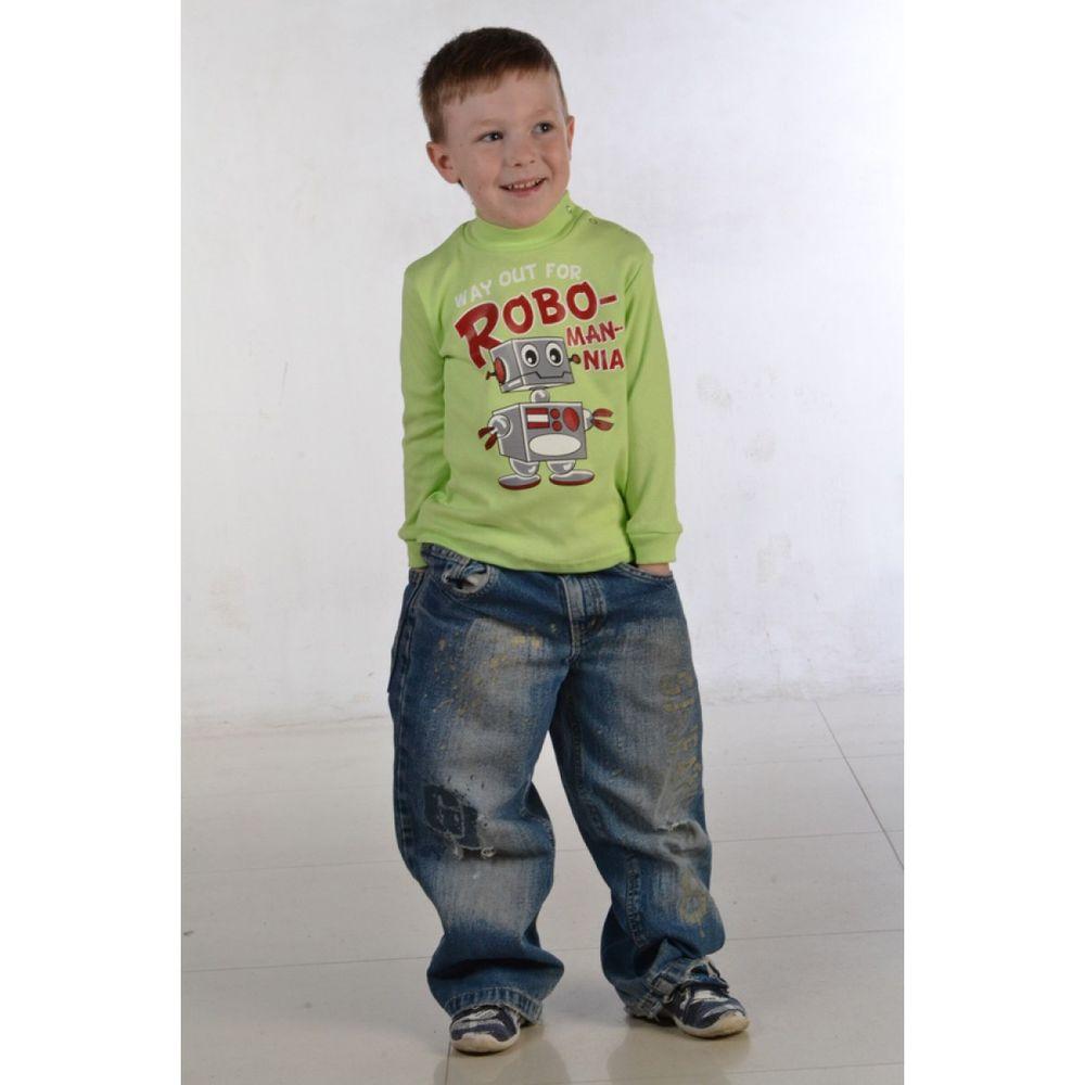 Водолазка для мальчика КлепкаВодолазки<br>Размер: 28<br><br>Принадлежность: Детская одежда<br>Возраст: Младший школьный возраст (7-10 лет)<br>Пол: Мальчик<br>Основной материал: Интерлок<br>Вид товара: Детская одежда<br>Материал: Интерлок<br>Состав: 100% хлопок<br>Длина: 18<br>Ширина: 12<br>Высота: 2<br>Размер RU: 28