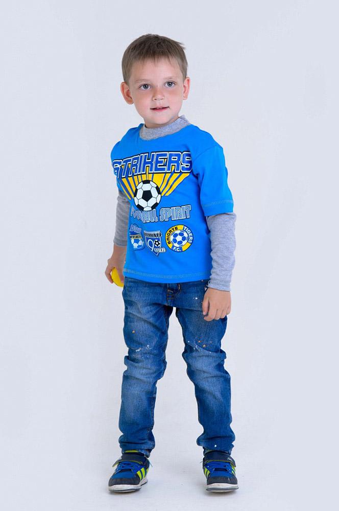 Джемпер ЖеняДжемперы<br>Вашему ребенку, как и вам, важно, чтобы его одежда была красивой и удобной, а также, чтобы она была пригодна для долгой носки, а не для двух-трех раз.  Джемпер для мальчика-дошкольника Женя осуществит его желание с легкостью! Ведь данный джемпер, во-первых, имеет яркий дизайн с крупным принтом на передней части, а во-вторых, имеет достойное качество, ведь сшит из интерлока, хлопковой ткани с приятной текстурой и гипоаллергенным свойством.   Однако от джемпера Женя будет в восторге далеко не только ваш сынишка, потому что вещь очень понравится и вам: своей невысокой ценой (при таком высоком качестве) и возможностью приобрести ее онлайн!   Размер: 32<br><br>Принадлежность: Детская одежда<br>Возраст: Дошкольник (1-6 лет)<br>Пол: Мальчик<br>Основной материал: Интерлок<br>Вид товара: Детская одежда<br>Материал: Интерлок<br>Длина: 18<br>Ширина: 12<br>Высота: 2<br>Размер RU: 32