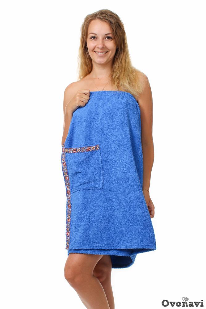 Полотенце - накидка махровая (женская) Универсальный
