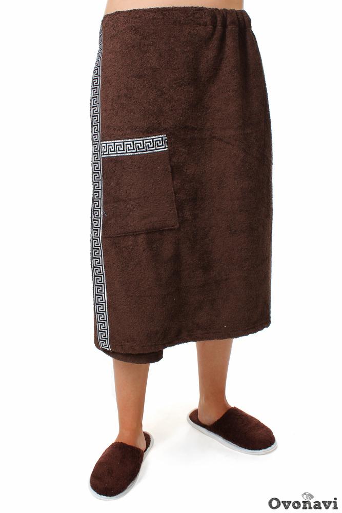 Полотенце - накидка махровая (мужская) Универсальный