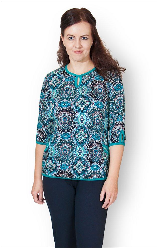 Блузка женская ЗлатаБлузки<br>Размер: 58<br><br>Высота: 7<br>Размер RU: 58