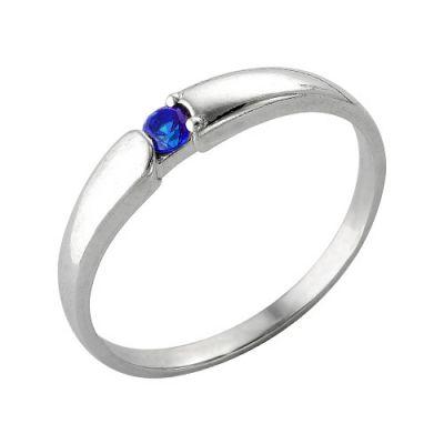 Кольцо серебряное 2386394Д3Серебряные кольца<br>Вес  1,56<br>Вставка  фианит<br>Покрытие  родирование Размер: 18.5<br><br>Высота: 3<br>Размер RU: 18.5