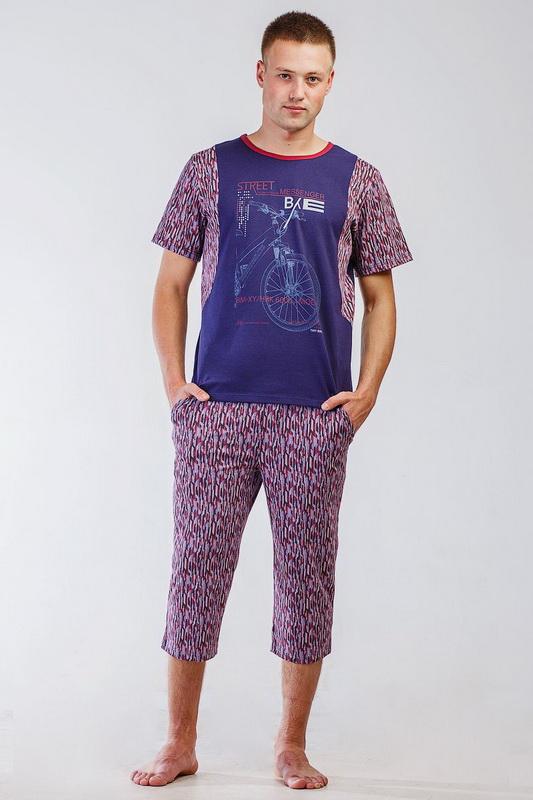 Костюм мужской АльфредДомашние костюмы<br>Размер: 58<br><br>Принадлежность: Мужская одежда<br>Основной материал: Трикотаж<br>Вид товара: Одежда<br>Материал: Трикотаж<br>Состав: 100% хлопок<br>Длина: 22<br>Ширина: 18<br>Высота: 7<br>Размер RU: 58