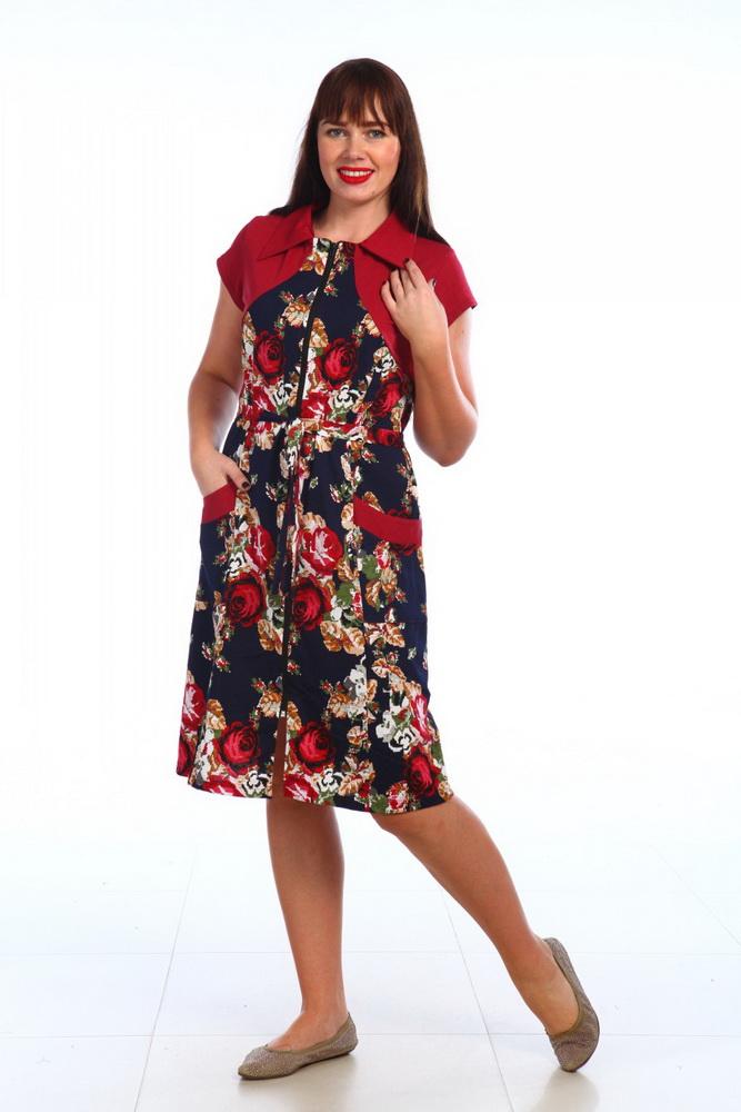 Халат женский БолероЛегкие халаты<br>Размер: 50<br><br>Высота: 9<br>Размер RU: 50
