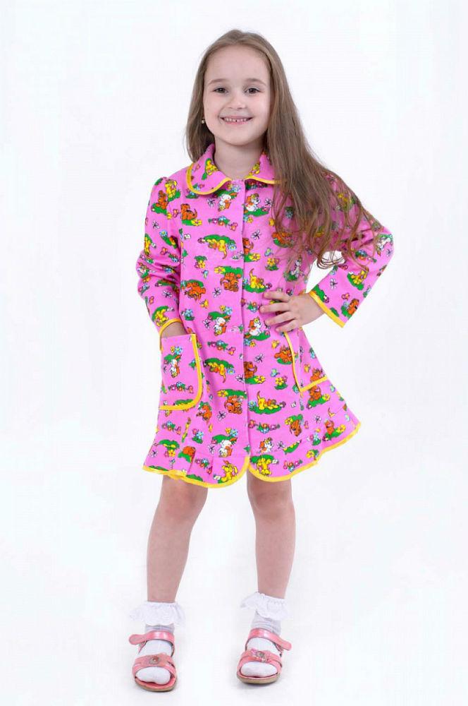 Халат МатрешкаХалаты теплые<br>Размер: 32<br><br>Принадлежность: Детская одежда<br>Возраст: Дошкольник (1-6 лет)<br>Пол: Девочка<br>Основной материал: Фланель<br>Вид товара: Детская одежда<br>Материал: Фланель<br>Длина: 18<br>Ширина: 12<br>Высота: 7<br>Размер RU: 32