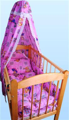 Набор в кроватку с одеялом и подушкой (поплин) от Грандсток
