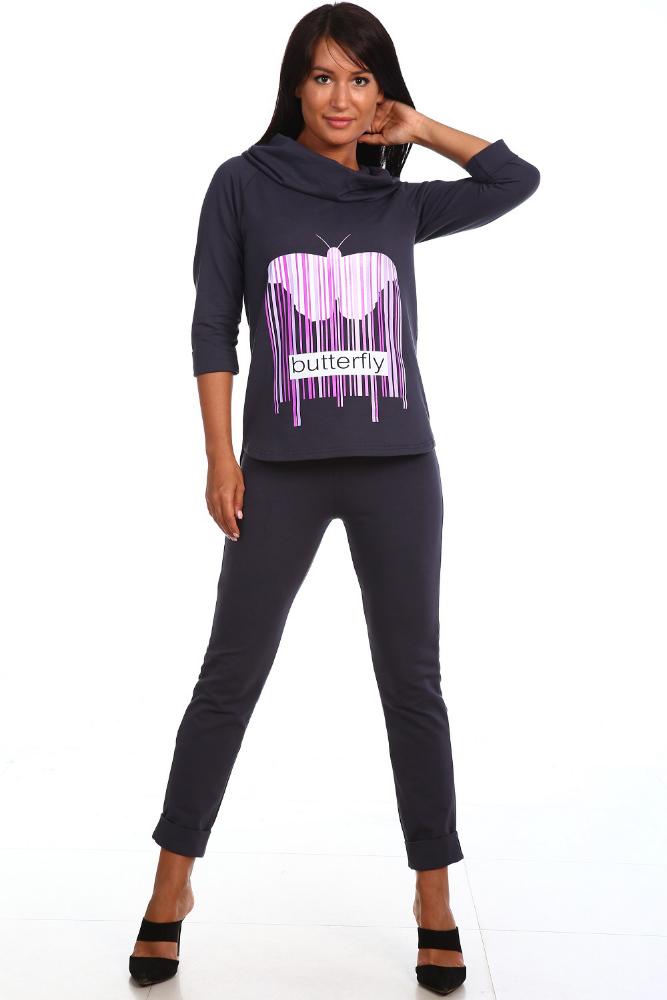 Костюм женский ЭгерияЛетние костюмы<br>Размер: 48<br><br>Высота: 9<br>Размер RU: 48
