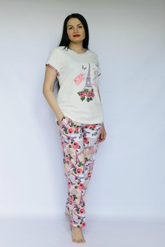 Костюм женский ФранцуженкаЛетние костюмы<br>Размер: 44<br><br>Высота: 7<br>Размер RU: 44