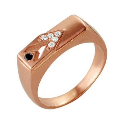 Кольцо серебряное 2386029Серебряные кольца<br>Вес  4,98<br>Вставка  Фианит<br>Покрытие  Золочение Размер: 19.0<br><br>Высота: 3<br>Размер RU: 19.0