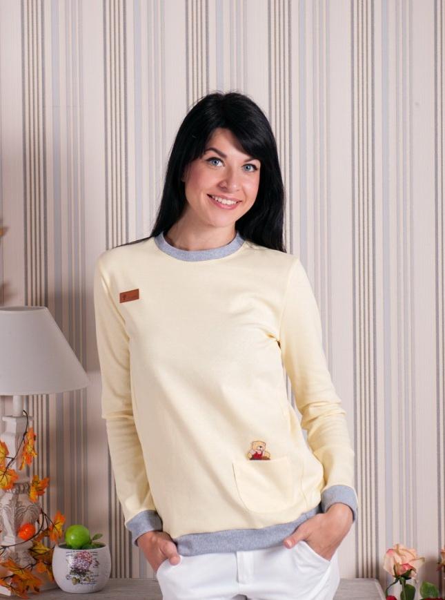Футболка женская ДандиФутболки<br>Размер: 46<br><br>Принадлежность: Женская одежда<br>Основной материал: Рибана<br>Страна - производитель ткани: Россия, г. Иваново<br>Вид товара: Одежда<br>Материал: Рибана<br>Длина по спинке : 50 размер - 70 см<br>Тип застежки: Без застежки<br>Длина рукава: Длинный<br>Длина: 18<br>Ширина: 12<br>Высота: 7<br>Размер RU: 46