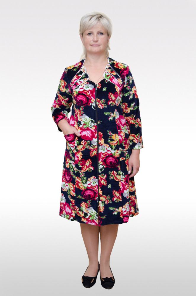Халат женский КерриТеплые халаты<br>Размер: 52<br><br>Высота: 11<br>Размер RU: 52