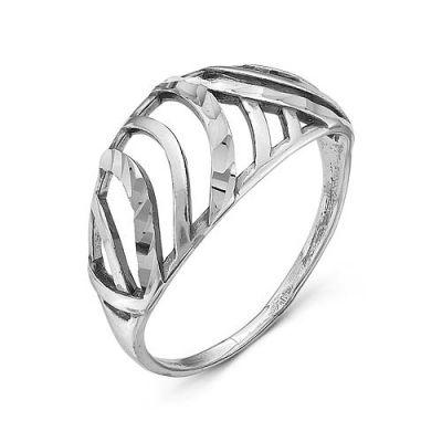 Кольцо бижутерия  2407070-5Бижутерия<br>Артикул  2407070 5<br>Покрытие  Серебрение с оксидированием<br>Размерный ряд  16,5-19,5 Размер: 18.5<br><br>Высота: 3<br>Размер RU: 18.5