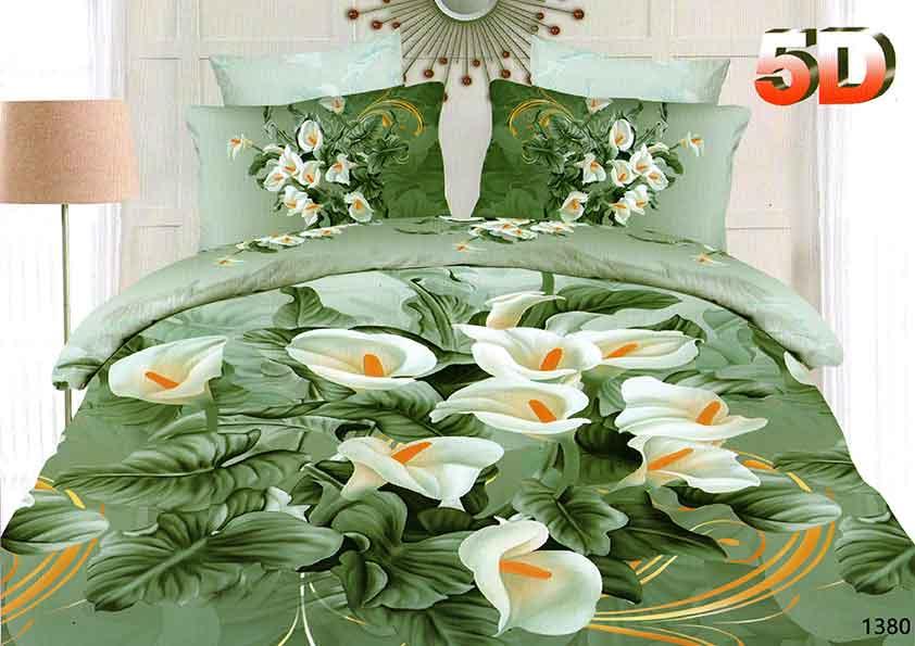 """Постельное белье """"Оливия"""" 5D (жатка) 1,5 спальный"""