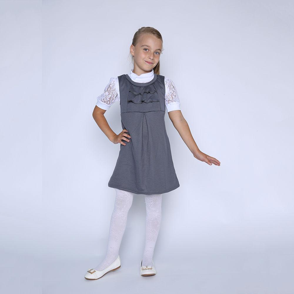 Сарафан детский СофияСарафаны<br>Размер: 34<br><br>Высота: 2<br>Размер RU: 34