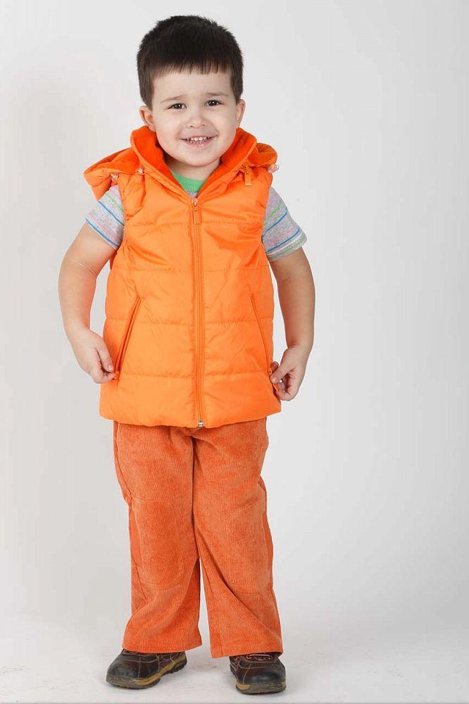 Жилет Матвей (весна-осень)Куртки<br>Верх - дьюспа, подкладка - флис, утеплитель -синтепон 100гр/м 100%п/э Размер: 34<br><br>Принадлежность: Детская одежда<br>Возраст: Дошкольник (1-6 лет)<br>Пол: Унисекс<br>Основной материал: Дюспа<br>Страна - производитель ткани: Россия, г. Иваново<br>Вид товара: Детская одежда<br>Материал: Дюспа<br>Сезон: Весна - осень<br>Длина: 18<br>Ширина: 12<br>Высота: 2<br>Размер RU: 34
