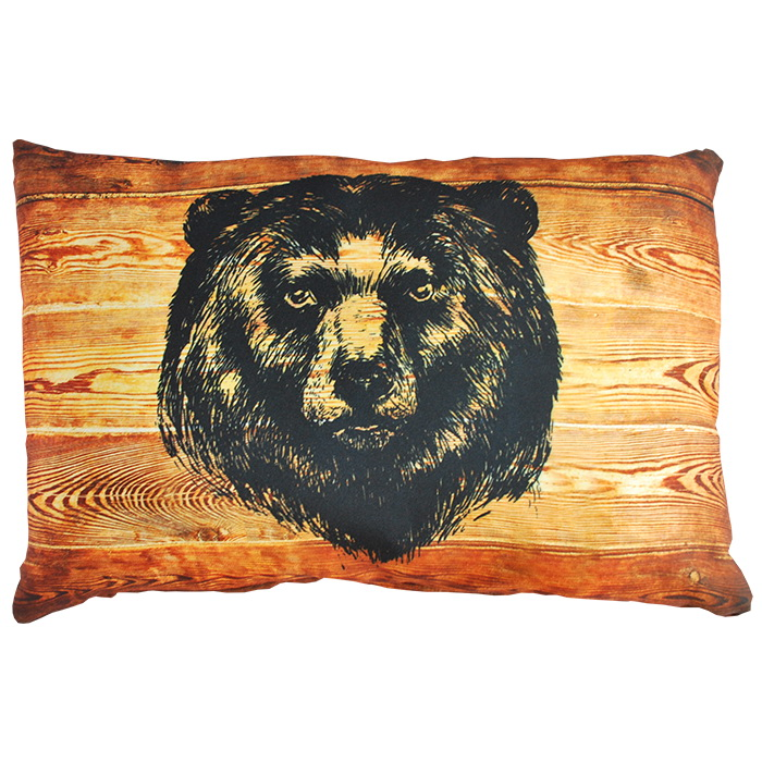 """Декоративная подушка """"Медведь"""" 35*55"""
