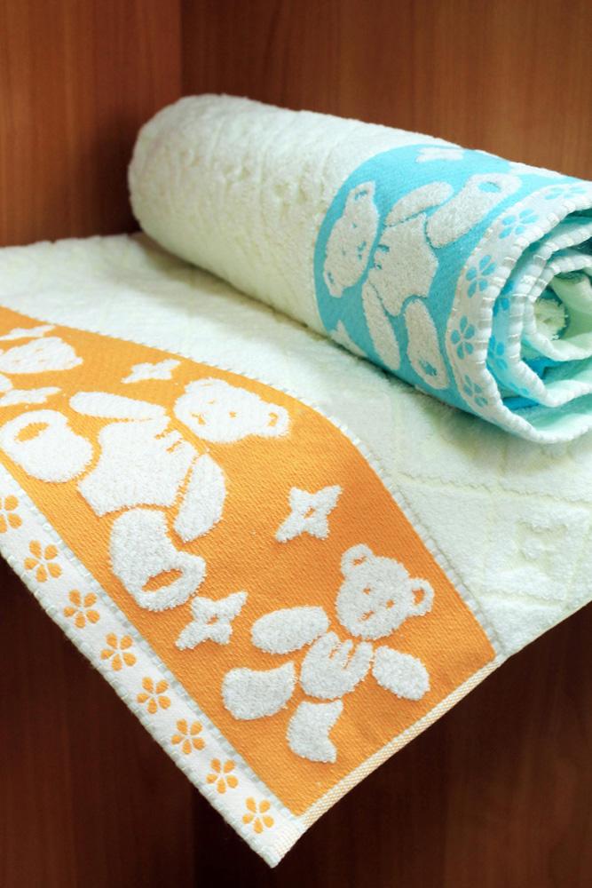 Полотенце Мишутка 80х160Детские полотенца<br>Размер: 80х160<br><br>Принадлежность: Для дома<br>По назначению: Повседневные<br>Основной материал: Махра<br>Страна - производитель ткани: Sunvim Co. Ltd., Китай.<br>Вид товара: Полотенца<br>Материал: Махра<br>Плотность: 350 г/кв. м.<br>Состав: 100% хлопок<br>Длина: 19<br>Ширина: 16<br>Высота: 8<br>Размер RU: 80х160