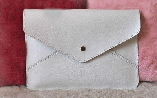 """Клатч-конверт кожаный """"Лэсси"""" от Grandstock"""