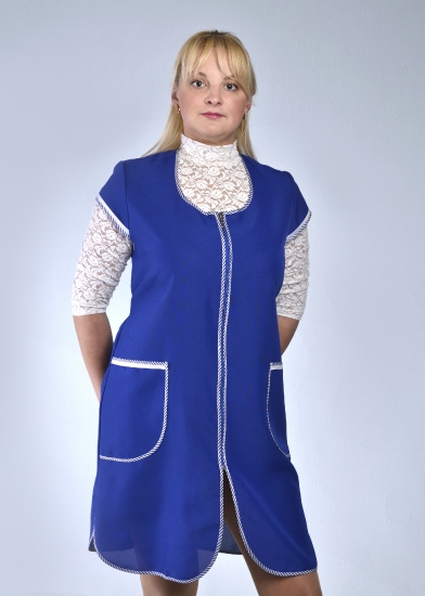 Халат женский ФелицаДля работников торговли<br>Размер: 44<br><br>Принадлежность: Женская одежда<br>Основной материал: Габардин<br>Вид товара: Одежда<br>Материал: Габардин<br>Состав: 100% полиэстер<br>Длина: 18<br>Ширина: 12<br>Высота: 7<br>Размер RU: 44