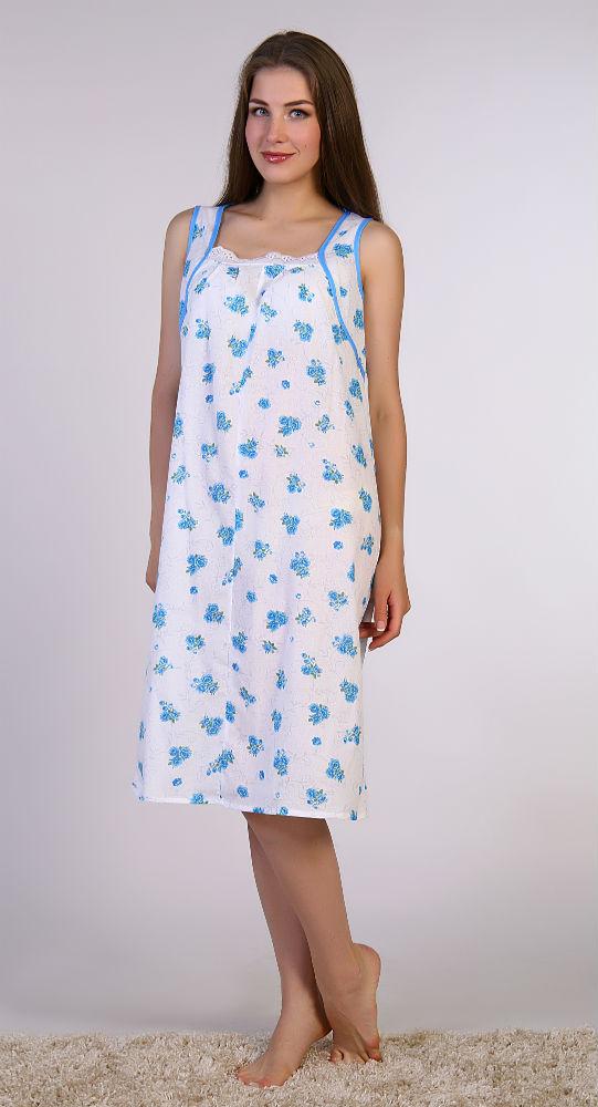 Ночная сорочка КристиСорочки и ночные рубашки<br>Красота и женственность - это результаты постоянной работой над собой и своим внешним видом. Но не думайте, что эта работа такая уж сложная.<br>Например, чтобы оставаться красивой даже ночью, достаточно выбрать для сна что-нибудь изящное и утонченное - например, женскую ночную сорочку Кристи! Данная модель имеет прямой силуэт, она выполнена в изысканном дизайне, и эта изысканность особенно ярко прослеживается в нежной расцветке цветочной тематики и кружевной отделке выреза.<br>Но если вы думаете, что за всю эту красоту вам придется поплатиться неудобством во время сна, то тут вы ошибаетесь, потому что спать вы в ней будете слаще, чем когда-либо! Размер: 50<br><br>Принадлежность: Женская одежда<br>Основной материал: Ситец<br>Вид товара: Одежда<br>Материал: Ситец<br>Состав: 100% хлопок<br>Длина: 18<br>Ширина: 15<br>Высота: 4<br>Размер RU: 50