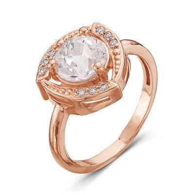 Кольцо серебряное 2386871Серебряные кольца<br>Вес  3,49<br>Вставка  фианиты<br>Покрытие  золочение Размер: 19.0<br><br>Высота: 3<br>Размер RU: 19.0