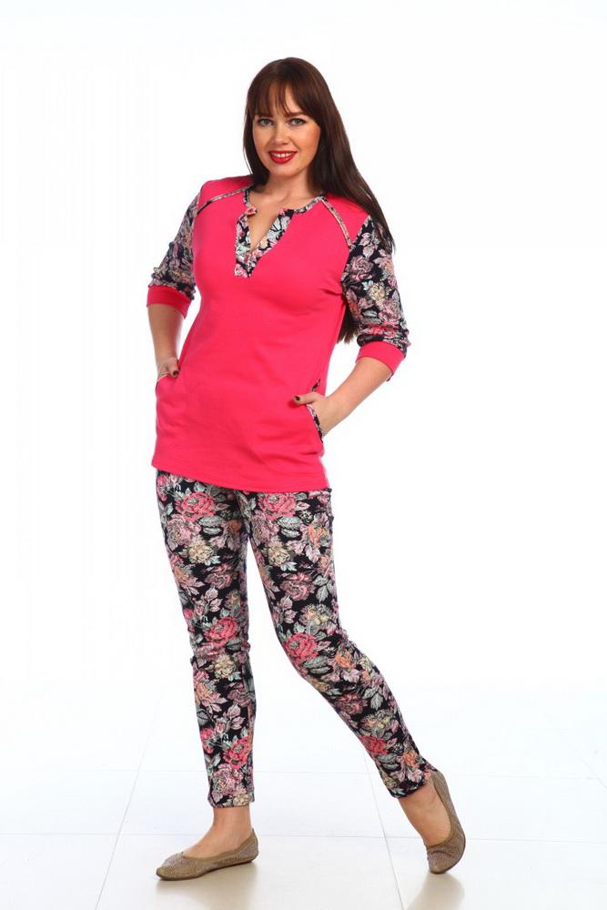 Костюм женский ВалентинаЛетние костюмы<br>Размер: 48<br><br>Высота: 7<br>Размер RU: 48