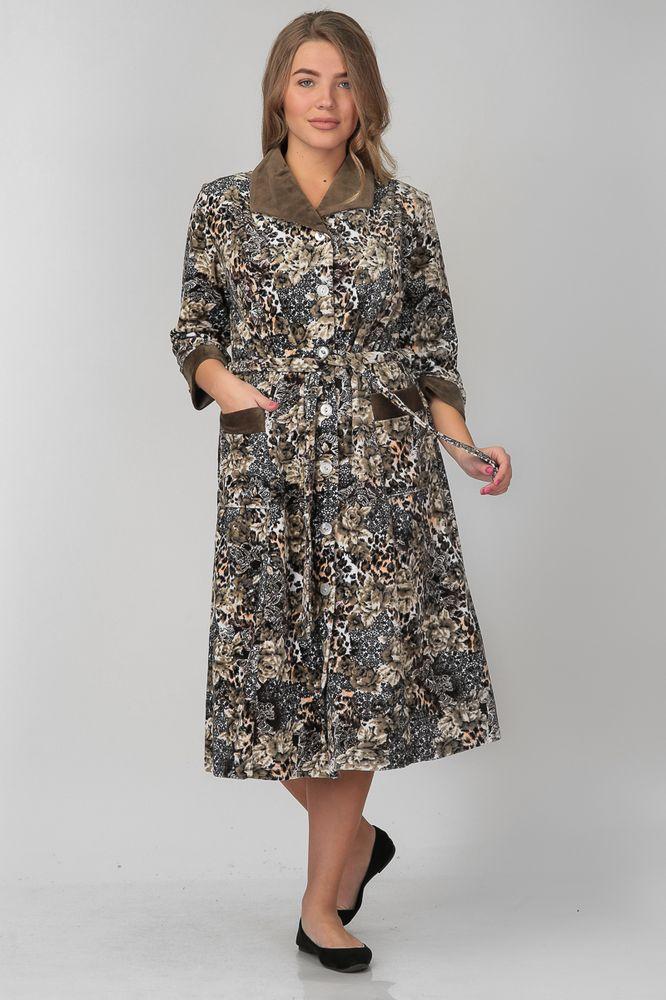 Халат женский НеилинаТеплые халаты<br>Размер: 62<br><br>Высота: 11<br>Размер RU: 62