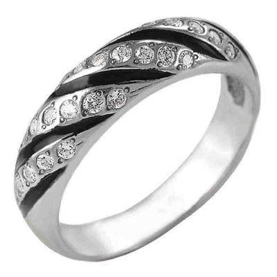 """Кольцо серебряное """"2381415"""" от Grandstock"""