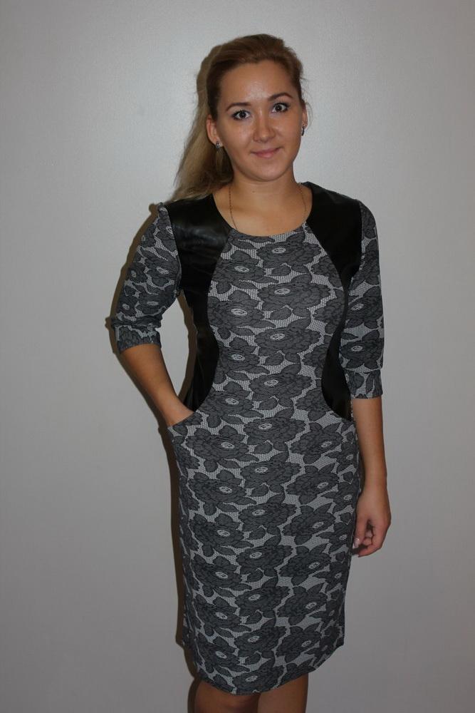 Платье женское РоксиПлатья<br>Размер: 50<br><br>Длина платья: Миди<br>Принадлежность: Женская одежда<br>Основной материал: Трикотаж<br>Страна - производитель ткани: Россия, г. Иваново<br>Вид товара: Одежда<br>Материал: Трикотаж<br>Состав: 100% полиэстер<br>Длина рукава: Средний<br>Длина: 18<br>Ширина: 12<br>Высота: 7<br>Размер RU: 50