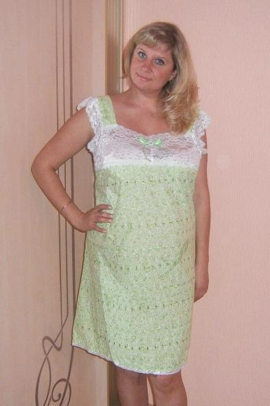 Ночная сорочка АсяСорочки и ночные рубашки<br>Размер: 48<br><br>Высота: 7<br>Размер RU: 48