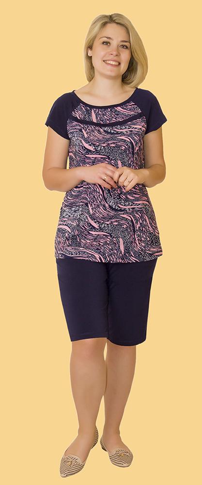 Костюм женский ДжулияЛетние костюмы<br>Размер: 46<br><br>Высота: 6<br>Размер RU: 46