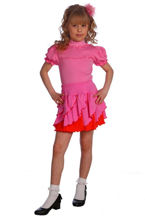 Юбка детская ЛаймаЮбки<br>Красивая юбка  с вертикальными валанами с отстрочкой, на резинке. Размер: 36<br><br>Принадлежность: Детская одежда<br>Возраст: Подростковый возраст (11-17 лет)<br>Пол: Девочка<br>Основной материал: Интерлок<br>Вид товара: Детская одежда<br>Материал: Интерлок<br>Длина: 18<br>Ширина: 12<br>Высота: 2<br>Размер RU: 36