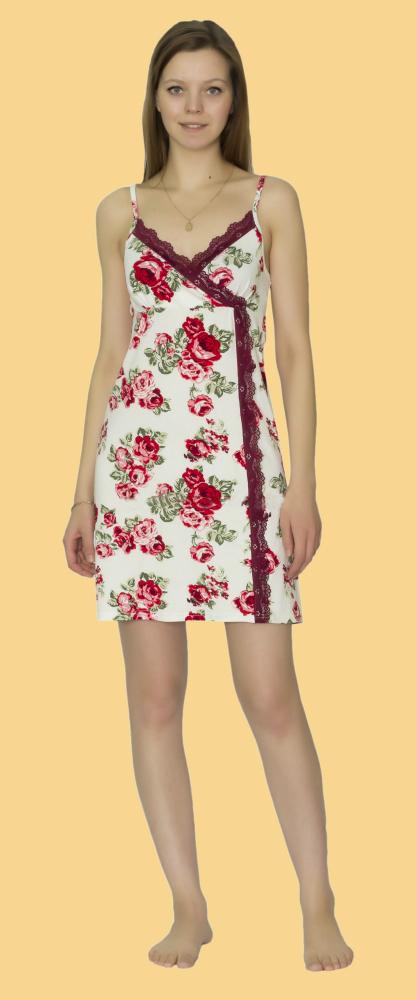 Ночная сорочка КайлиСорочки и ночные рубашки<br>Размер: 52<br><br>Принадлежность: Женская одежда<br>Основной материал: Вискоза<br>Вид товара: Одежда<br>Материал: Вискоза<br>Длина: 18<br>Ширина: 12<br>Высота: 7<br>Размер RU: 52